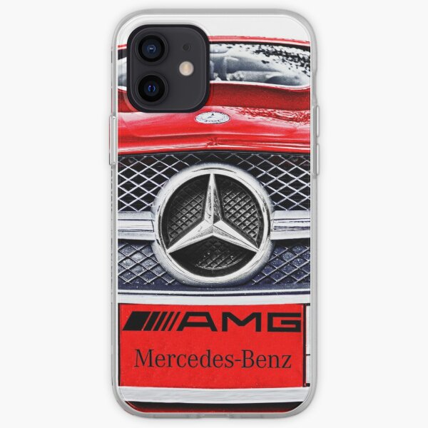 MERCEDES BENZ AMG ROUGE Coque souple iPhone