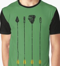 The Green Arrow's Arsenal  Graphic T-Shirt