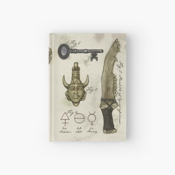 (Super)natural History - Hunter's artefacts Hardcover Journal