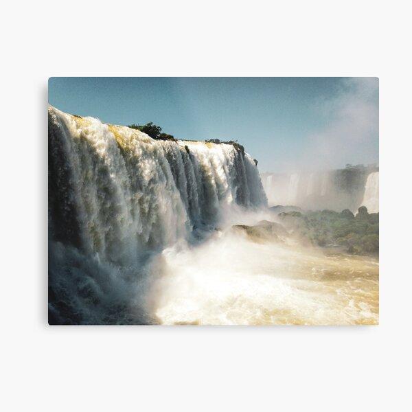 Cataratas del Iguazu Metal Print