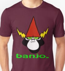 Wandern Sie über Yonder - Banjo Slim Fit T-Shirt
