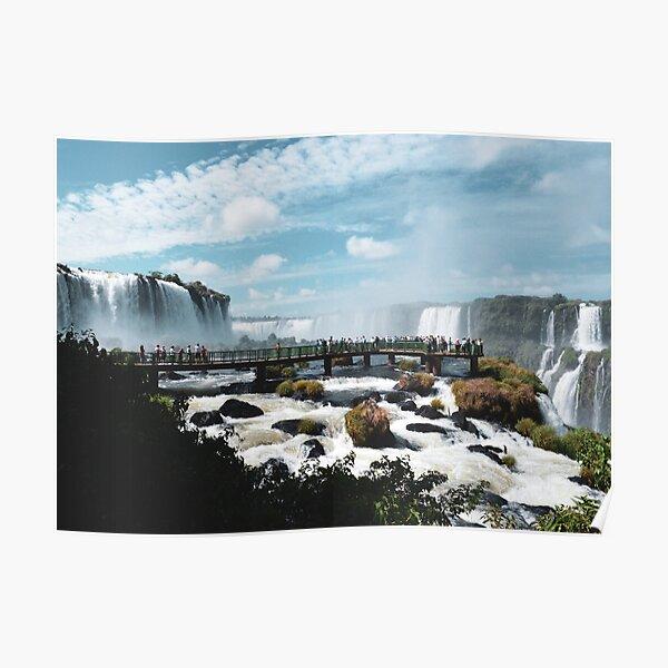Iguazu Falls, Brazil and Argentina Poster