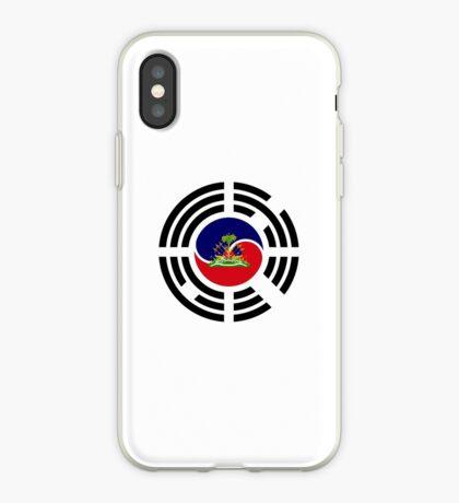 Korean Haitian Multinational Patriot Flag Series iPhone Case