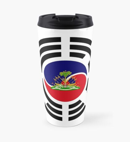 Korean Haitian Multinational Patriot Flag Series Travel Mug
