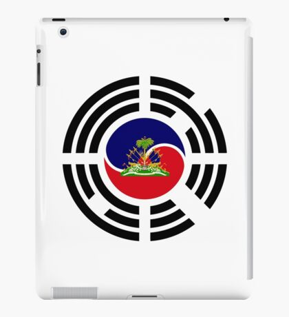 Korean Haitian Multinational Patriot Flag Series iPad Case/Skin