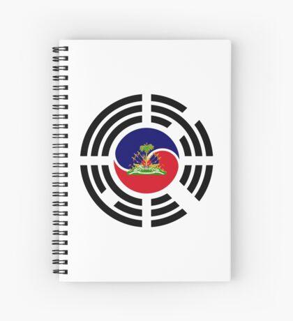 Korean Haitian Multinational Patriot Flag Series Spiral Notebook