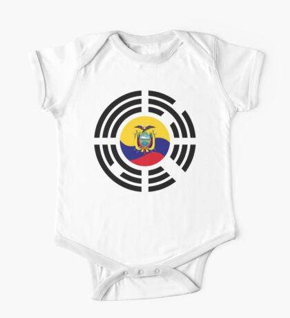 Korean Ecuadorian Multinational Patriot Flag Series Kids Clothes