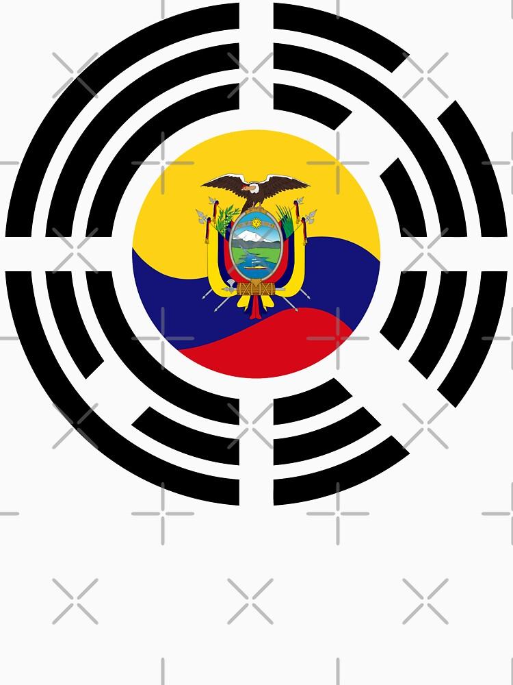 Korean Ecuadorian Multinational Patriot Flag Series by carbonfibreme
