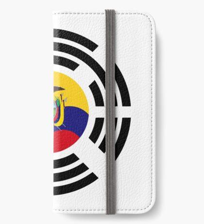 Korean Ecuadorian Multinational Patriot Flag Series iPhone Wallet