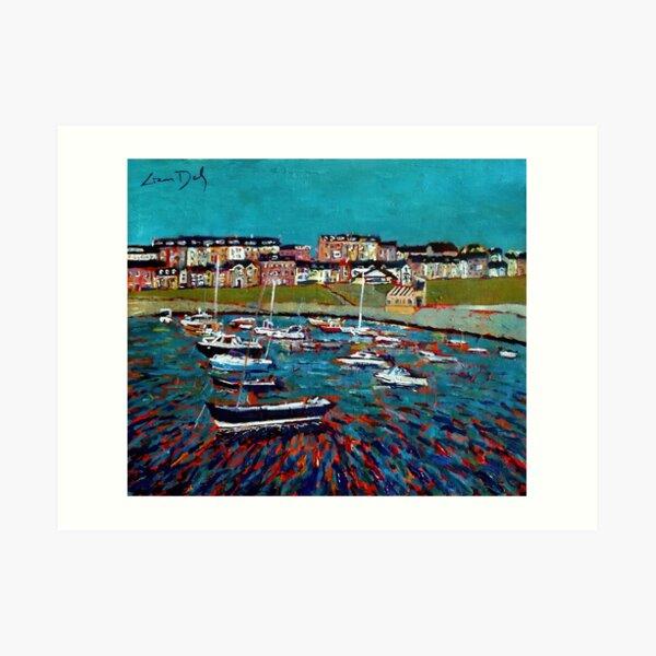 Portrush Harbour, Country Antrim - Ireland Art Print