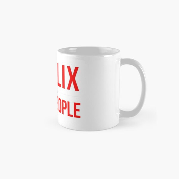 Netflix & Avoid People Classic Mug