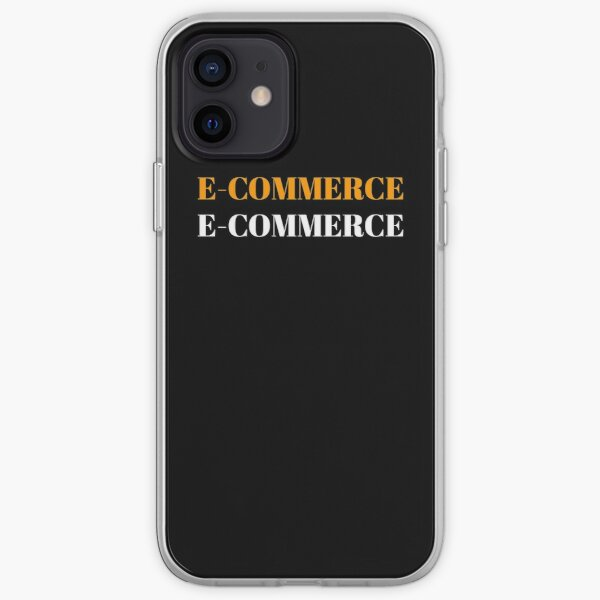 e-commerce t-shirt Essential T-Shirt iPhone Soft Case