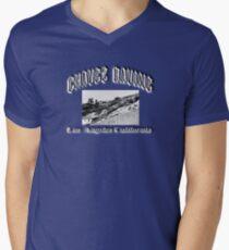 Chavez Ravine Men's V-Neck T-Shirt