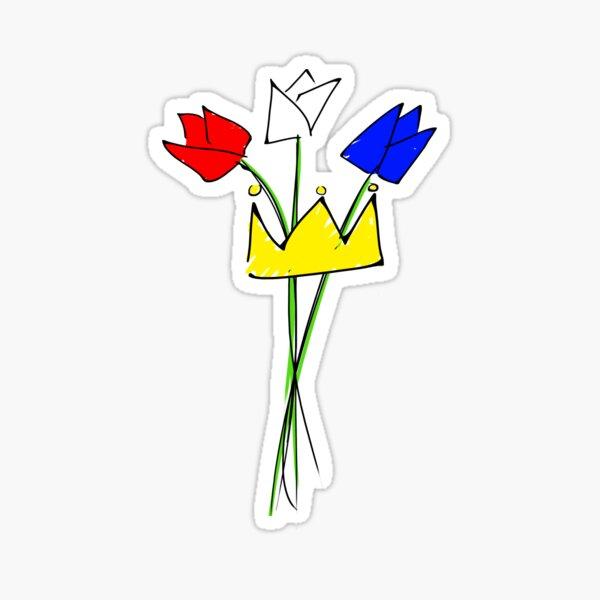 Kingsday NL - Koningsdag  Sticker