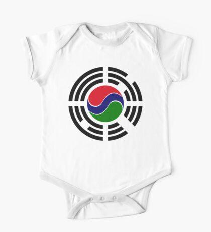 Korean Gambian Multinational Patriot Flag Series Kids Clothes
