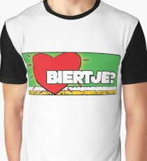 Biertje? Graphic T-Shirt