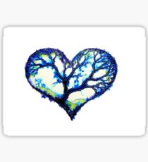 Home Is Where The Heart Is - Trees Sticker