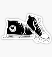 pro-life all star shoes Sticker
