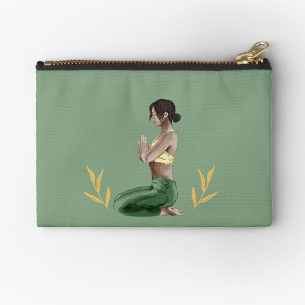 Yoga and Meditation Zipper Pouch