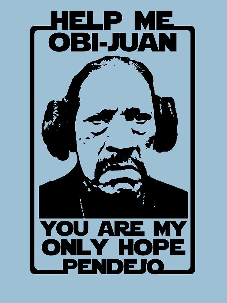 Help me Obi-Juan, you are my only hope pendejo by herbertshin