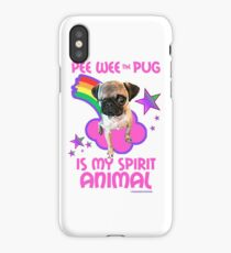 Pee Wee is my Spirit Animal iPhone Case/Skin