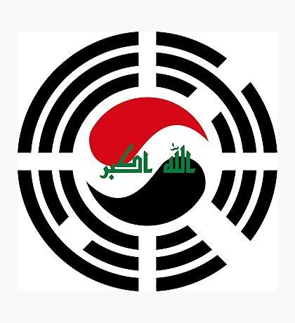 Korean Iraqi Multinational Patriot Flag Series Photographic Print