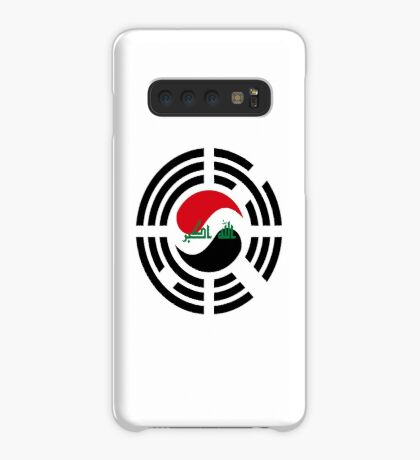 Korean Iraqi Multinational Patriot Flag Series Case/Skin for Samsung Galaxy