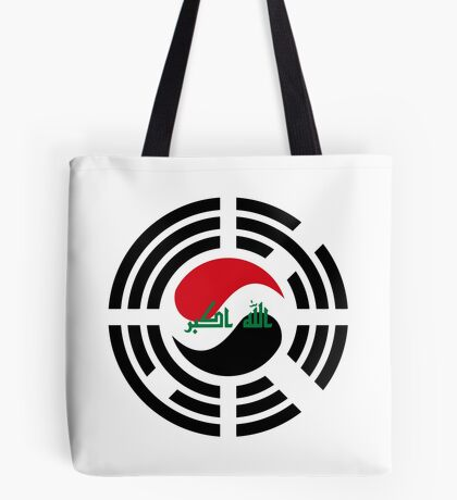Korean Iraqi Multinational Patriot Flag Series Tote Bag