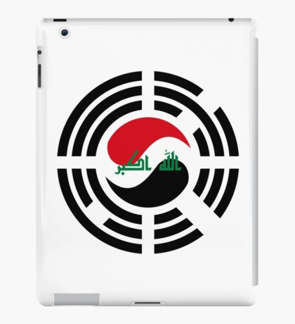 Korean Iraqi Multinational Patriot Flag Series iPad Case/Skin