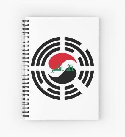 Korean Iraqi Multinational Patriot Flag Series Spiral Notebook