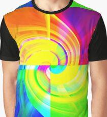 Fabulous Four Colours Graphic T-Shirt