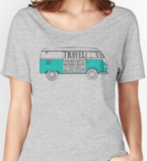 TRAVEL VAN Women's Relaxed Fit T-Shirt