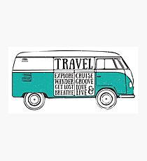 TRAVEL VAN Photographic Print
