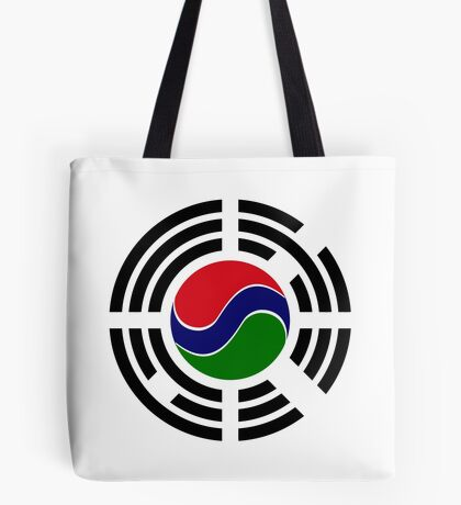 Korean Gambian Multinational Patriot Flag Series Tote Bag