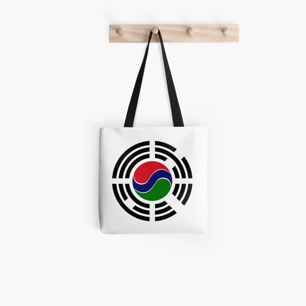 Korean Gambian Multinational Patriot Flag Series Tote Bag