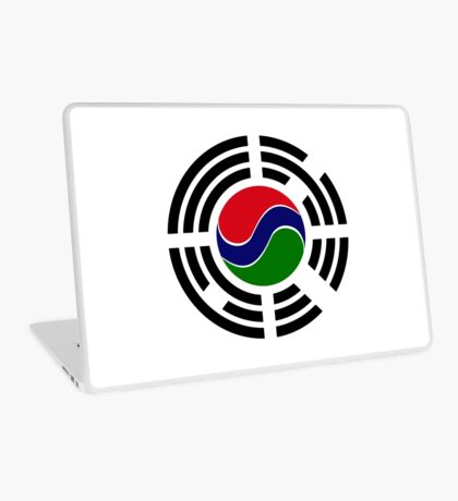 Korean Gambian Multinational Patriot Flag Series Laptop Skin