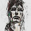 Staggered Abstract Portrait by Galen Valle
