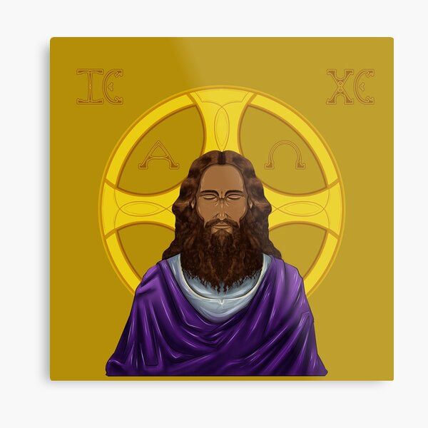 Christ of the Interior Metal Print