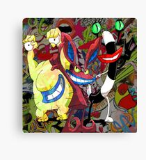 The Realest Monsters Canvas Print