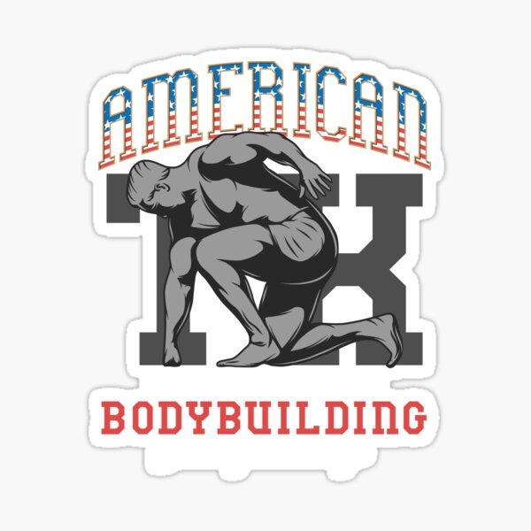 American Bodybuilder Sticker
