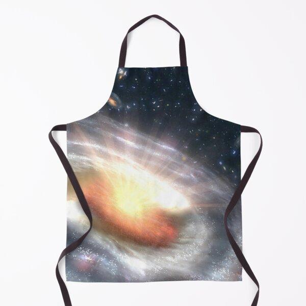 Black Hole Quasar NASA Concept Art Apron