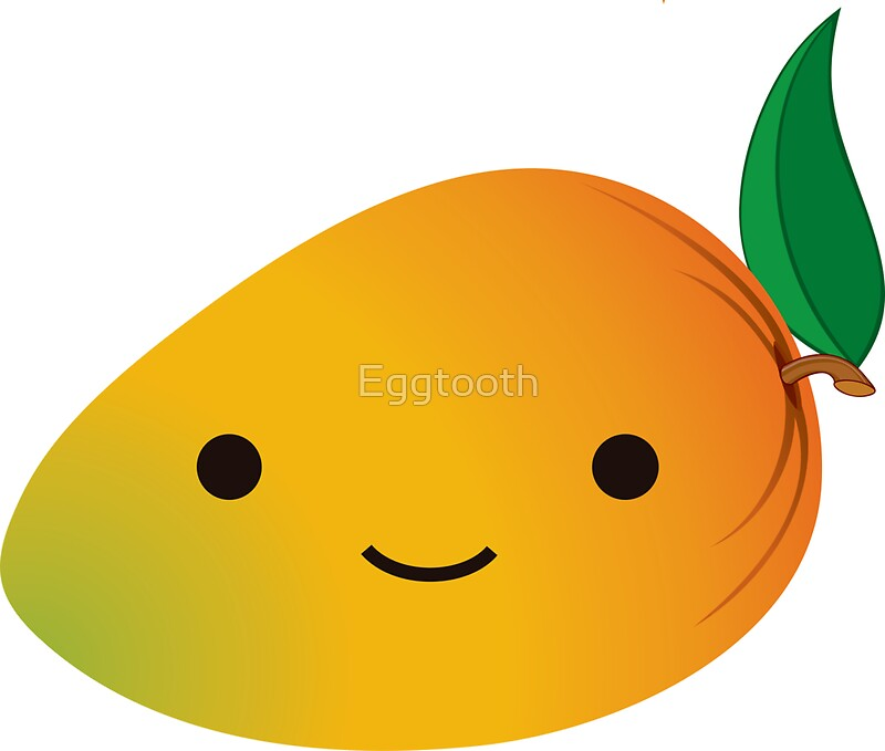 Cartoon Mango Stickers Redbubble