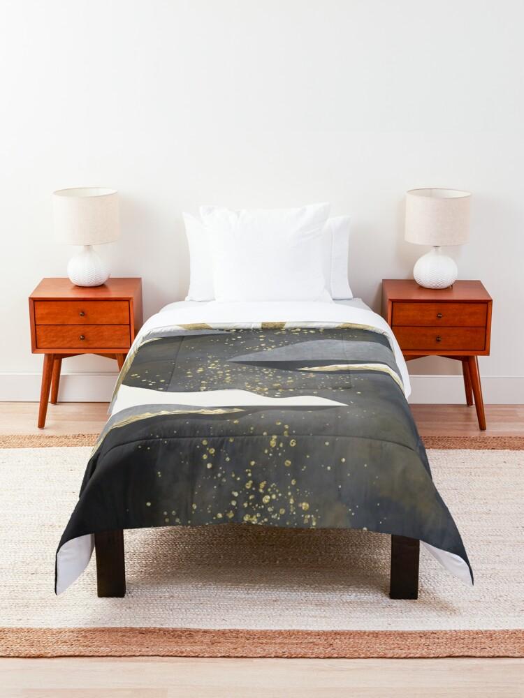 Alternate view of Metallic Dusk Comforter