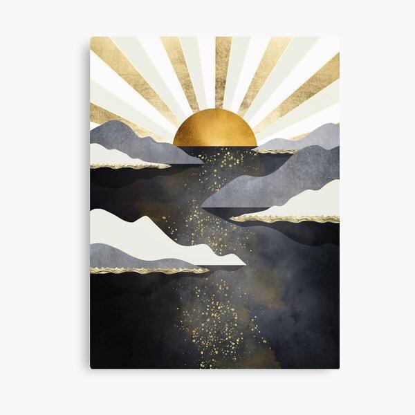 Metallic Dusk Canvas Print