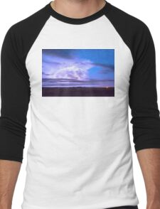 On The Edge Of A Storm Men's Baseball ¾ T-Shirt