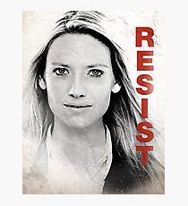 RESIST - Olivia Photographic Print