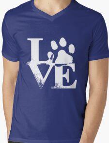 Love Paw Mens V-Neck T-Shirt