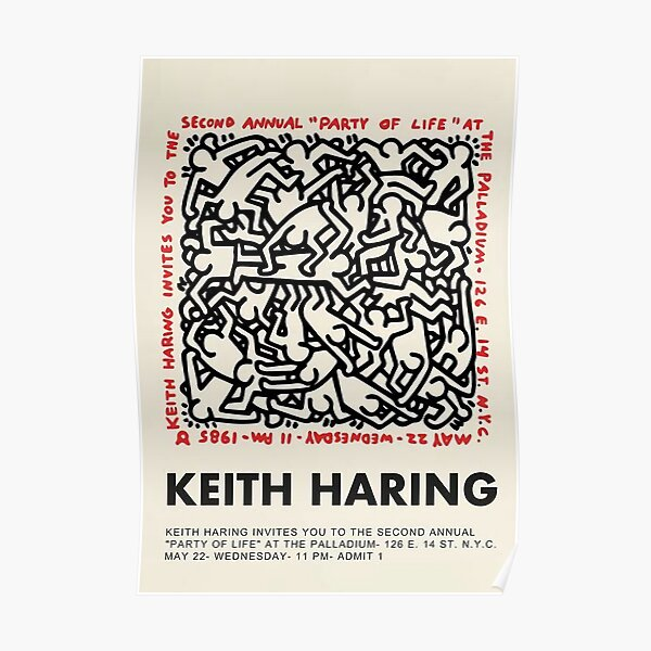 Party Of Life | Keith Poster