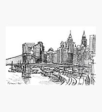 View from East River Drive Photographic Print