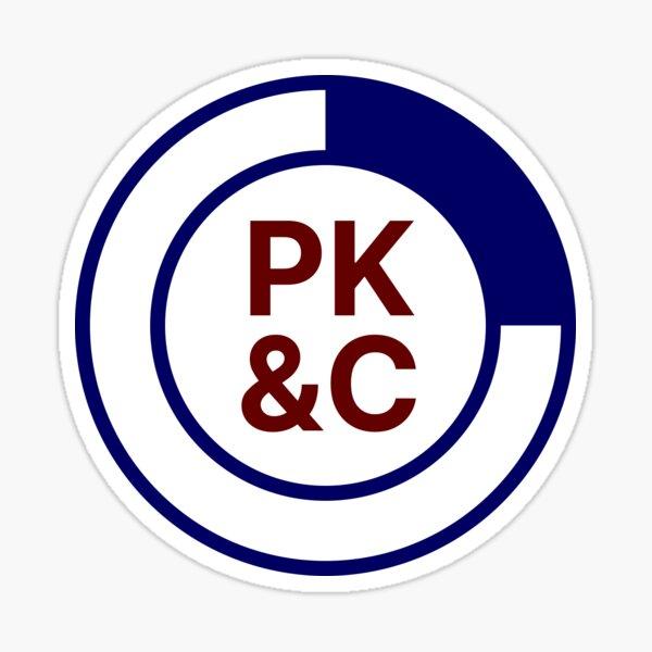 PK&C Logo Sticker